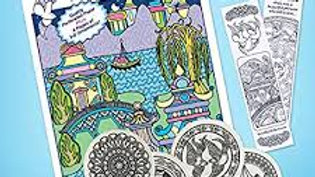 Blue Willow Coloring Book