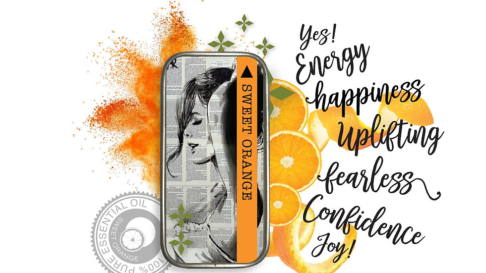Wearable Aromatherapy Perfume Balm- Orange