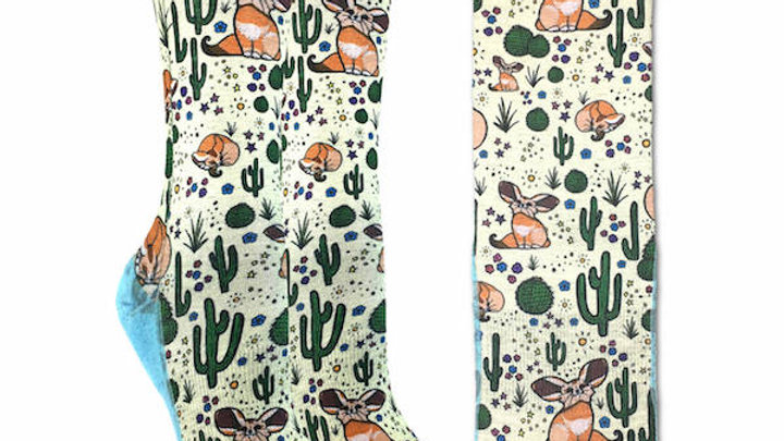 Desert Fox Socks