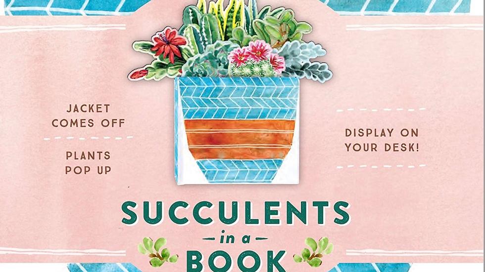 Succulent in a Book