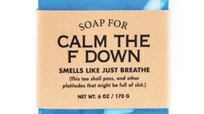 Calm the F Down Soap