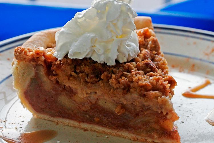 Apple Struesel Pie