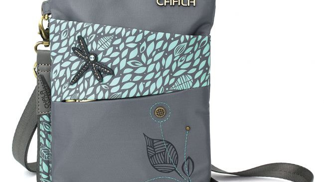 Dragonfly Crossbody Bag, RFID Protected