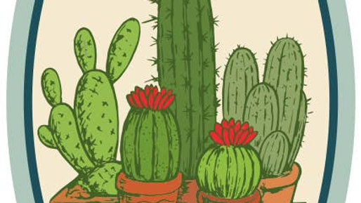 Large Cactus Sticker