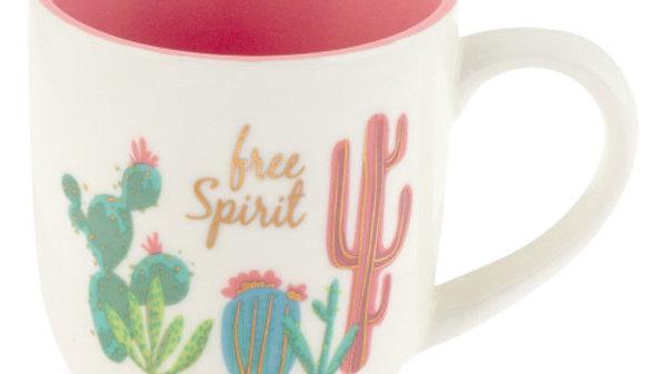 Free Spirit Cactus  Coffee Mug