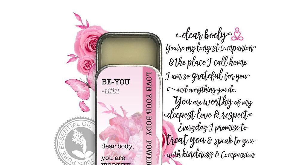 Wearable Aromatherapy Perfume Balm- Be You Tiful