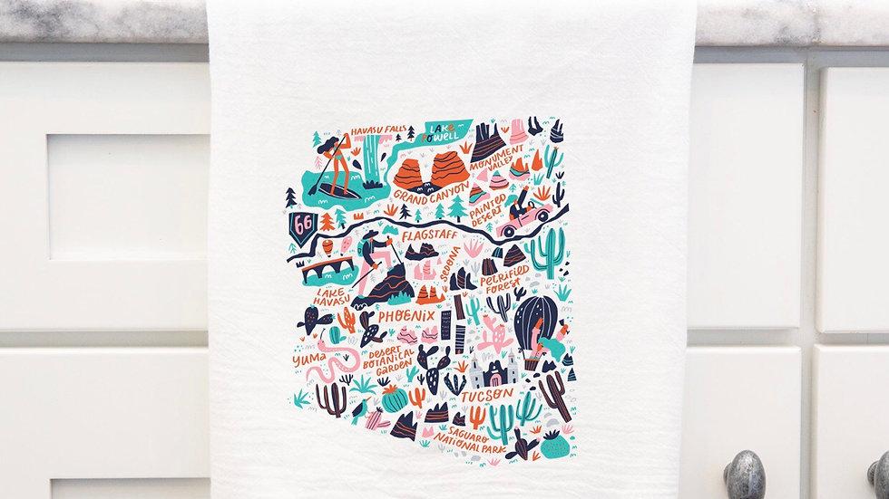Arizona State Towel