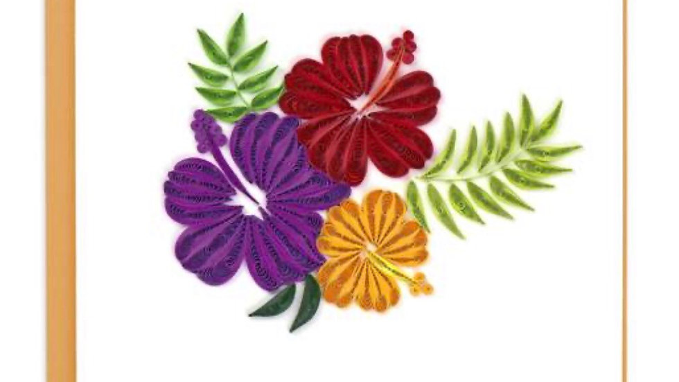 Floral Quilling Card