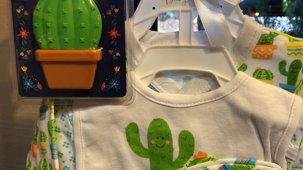 Saguaro Shower Gift Set