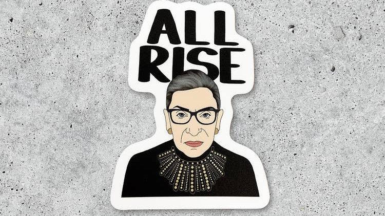 All Rise RBG Sticker