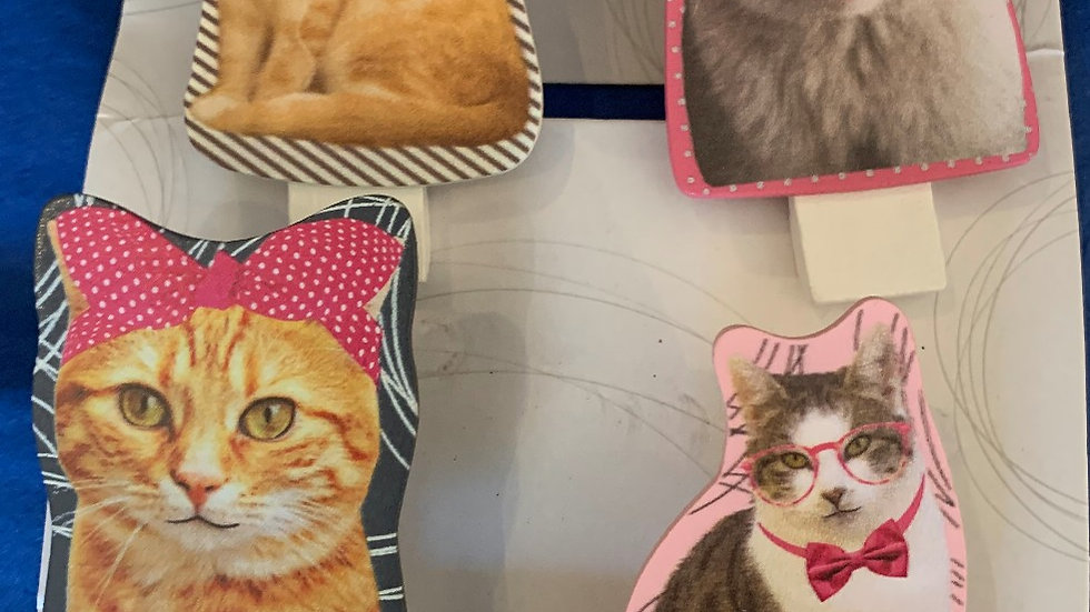 Cat Chip Clips