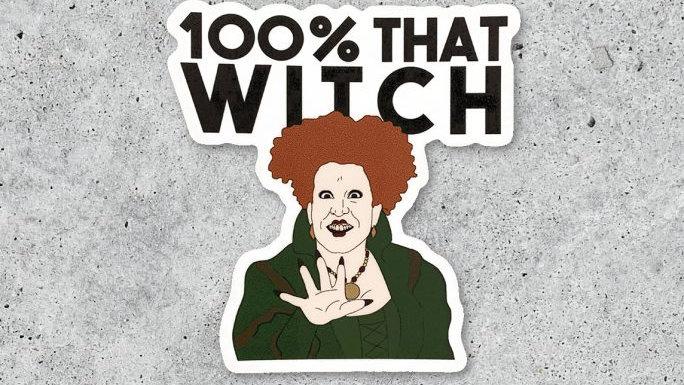 Winnifred Sticker