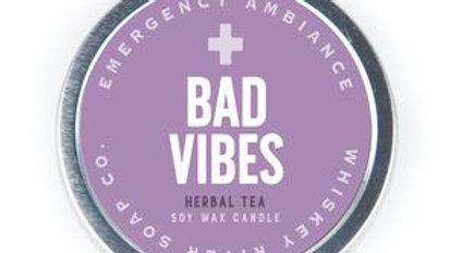 Emergency Ambiance Candle- BadVibes
