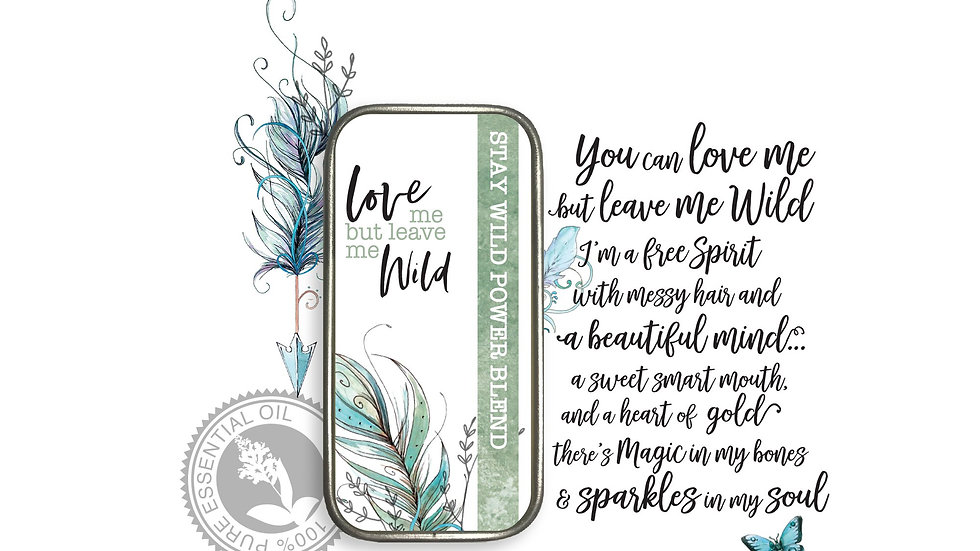 Wearable Aromatherapy Perfume Balm- Stay Wild