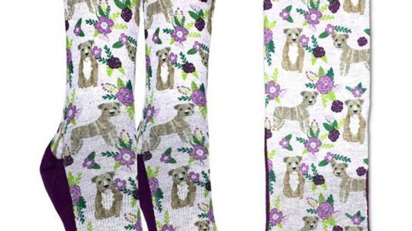 Floral Bulldog, Womens