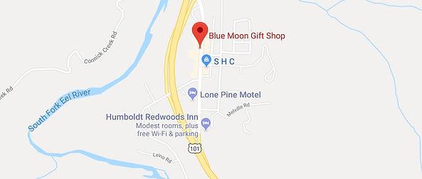 Blue Boon Gift Shop, Garberville, CA