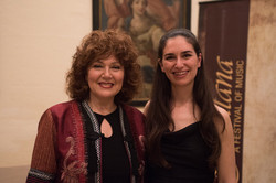 With Soprano Miriam Gauci