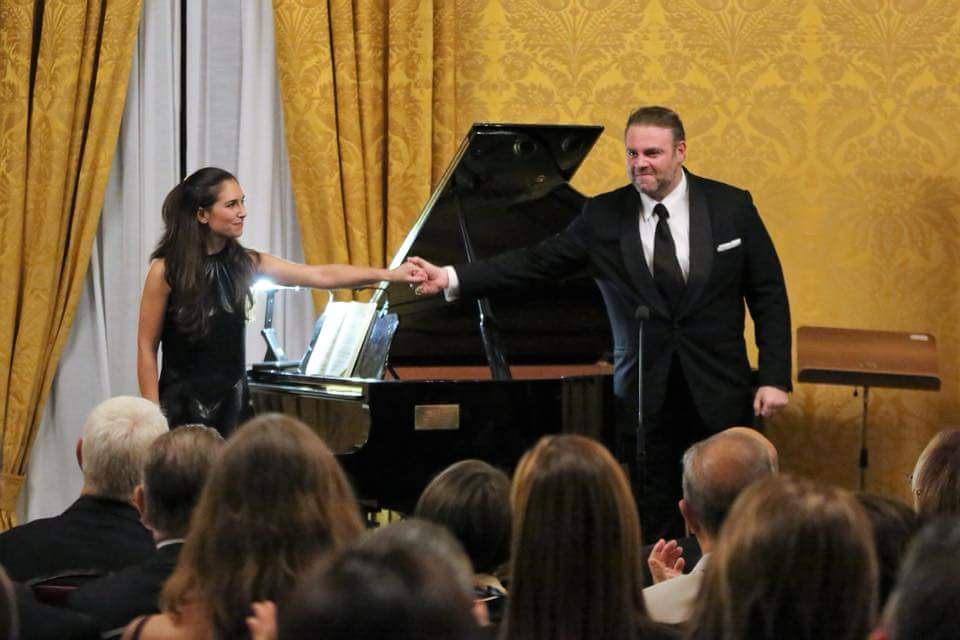 Joseph Calleja and Christine Zerafa