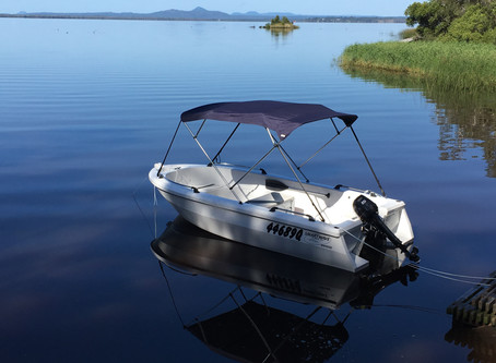 Get on the water in our brand new hire runabouts