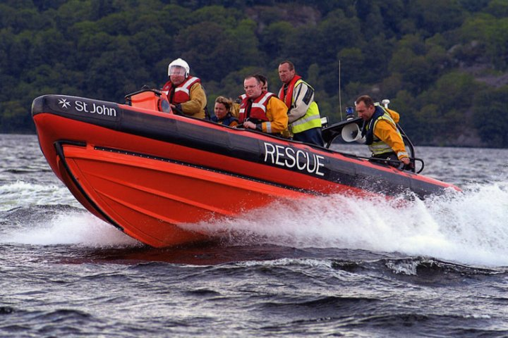 Loch Lomond Rescue Boat