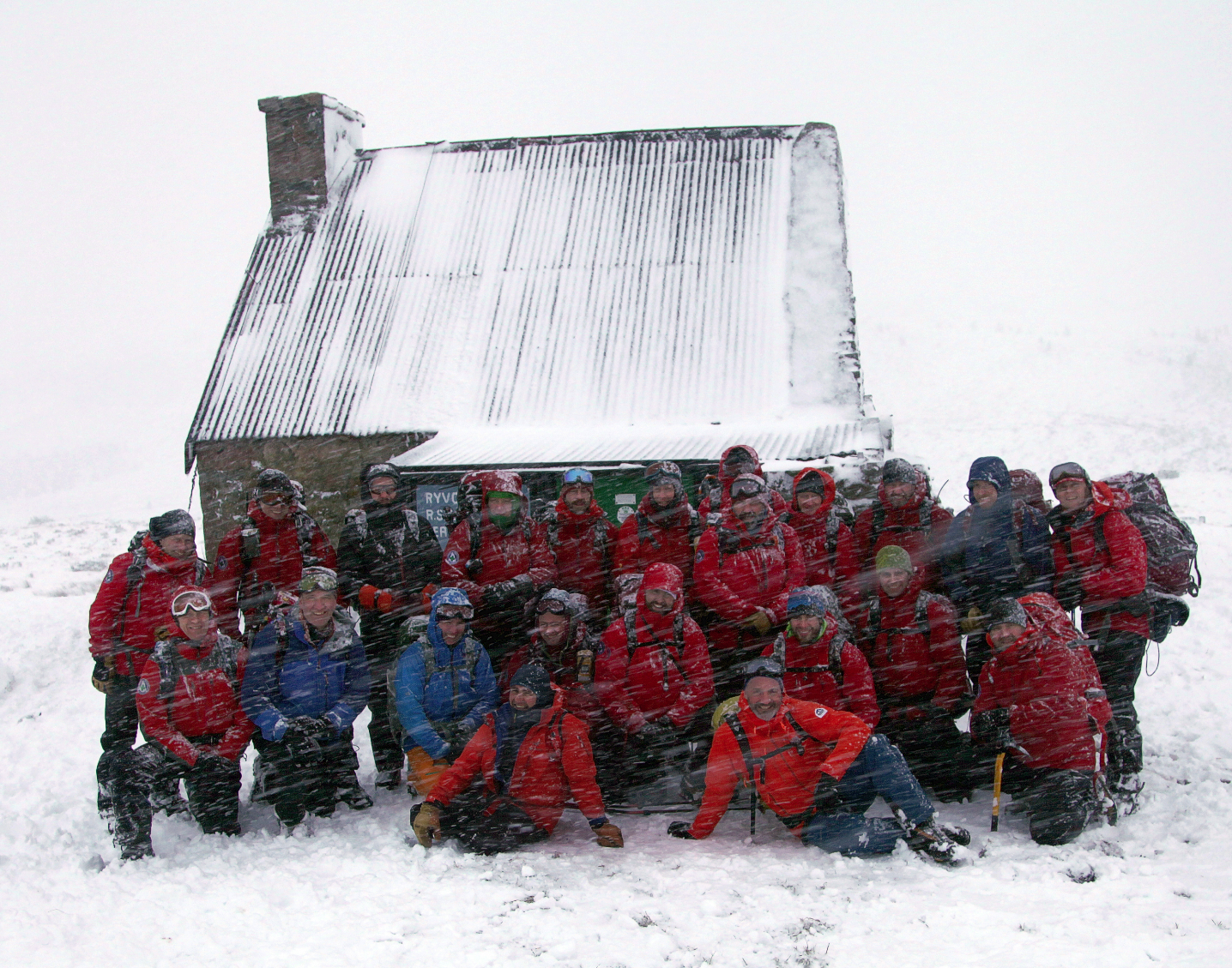 Winter Training Ryvoan Bothy