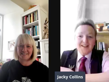 Interview with Jacky Collins (aka Dr Noir)