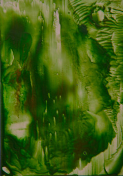 Greeny Abstract / Gwyrdd Haniaethol