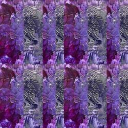Purple silver Fantasy Ffantasi Porffor
