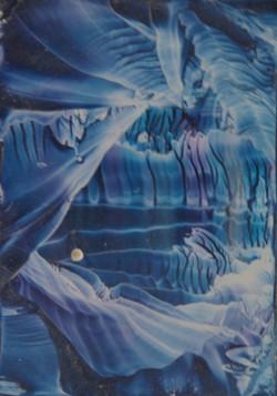 Abstract blue / glas haniaethol