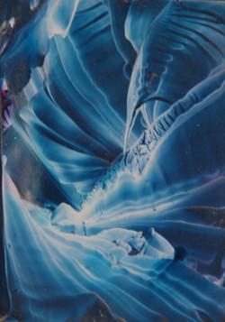 Blue light fantasy / Golau Glas Ffantasi