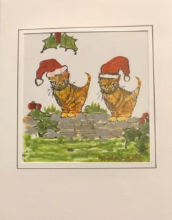 Christmas Cats / Cathod Nadolig