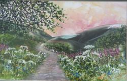 Path to Mountains / Llwybyr i'r Mynyddoedd