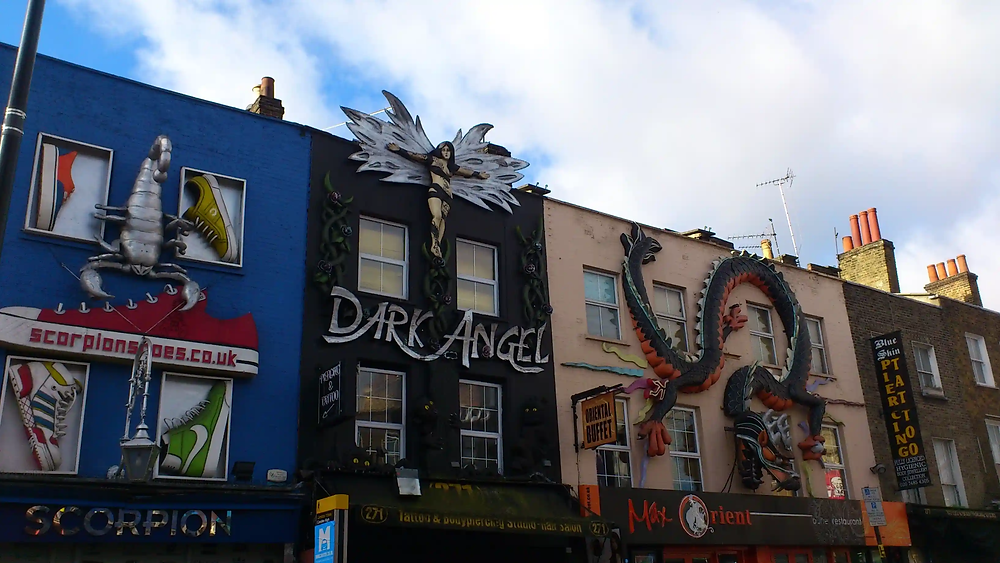 street art in London, UK