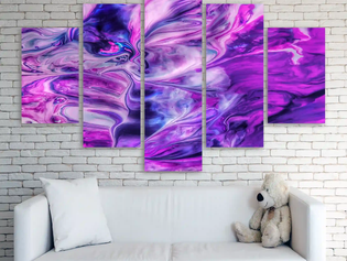 Decorate your businesses walls with Glitter canvases