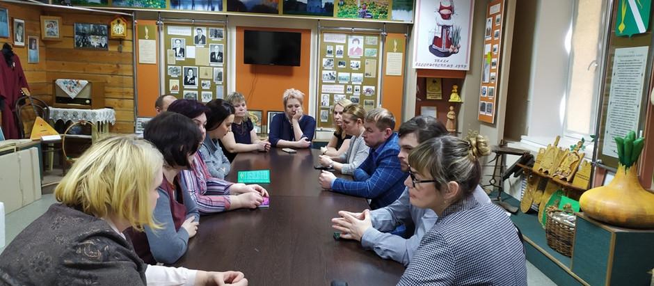 Встреча в администрации Бессоновского сельсовета