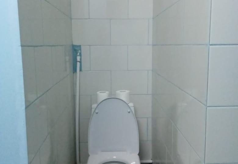 Новые туалеты.