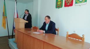Директор РЦ Чуйкин Дмитрий приглашен на заседание антинаркотической комиссии Лунинского района