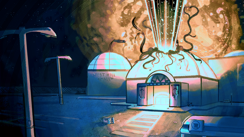 """""""Ghost Mall"""" Colour Key 4"""