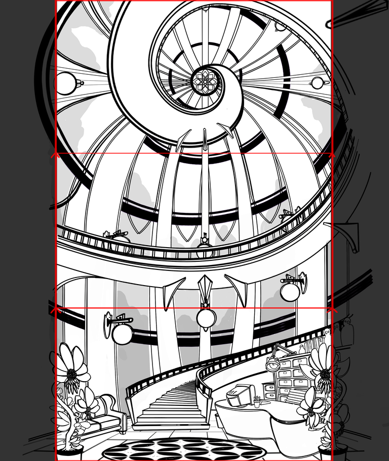 Panning Dome Layout