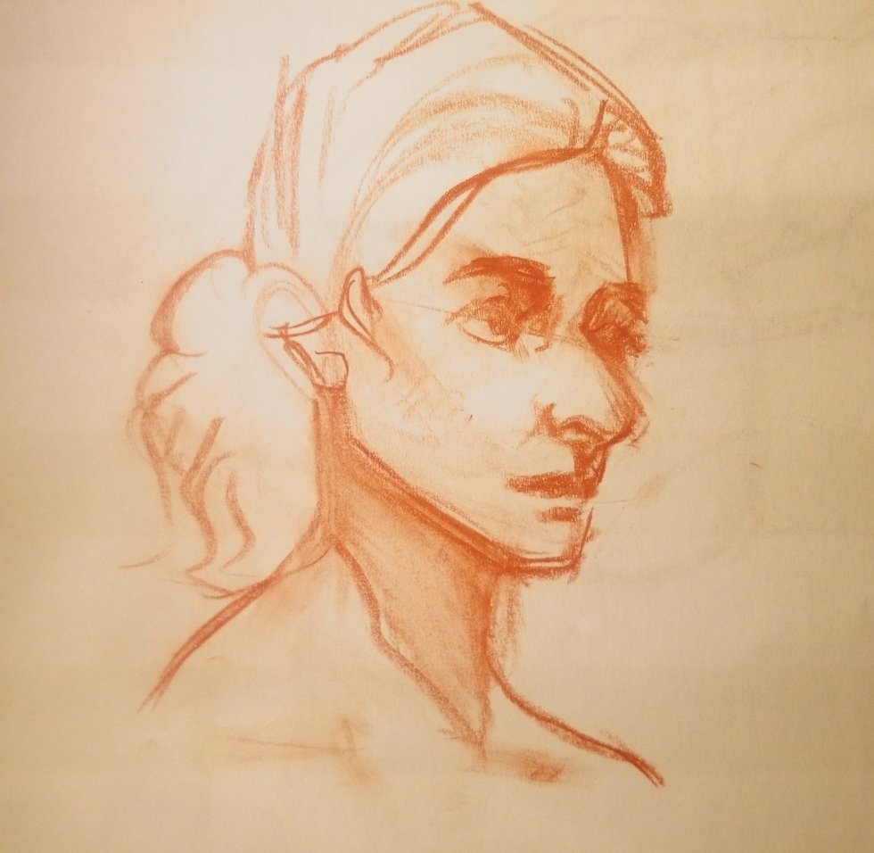 Sketchbook portrait