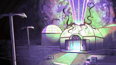 """""""Ghost Mall"""" Colour Key 2"""