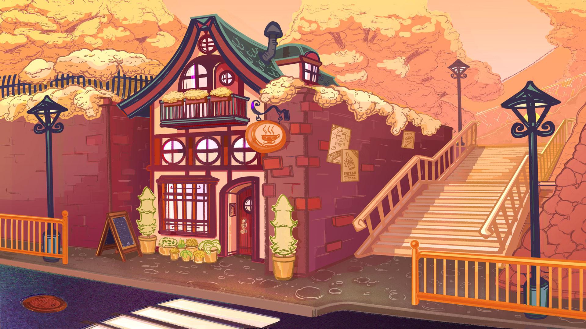 Autumn Coffee Shop
