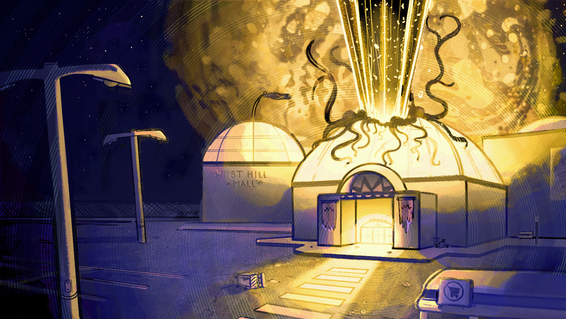 """""""Ghost Mall"""" Colour Key 5"""