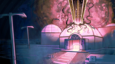 """""""Ghost Mall"""" Colour Key 3"""