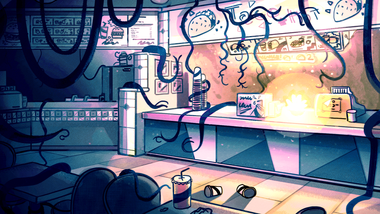 Ghost Mall Interior Color 3