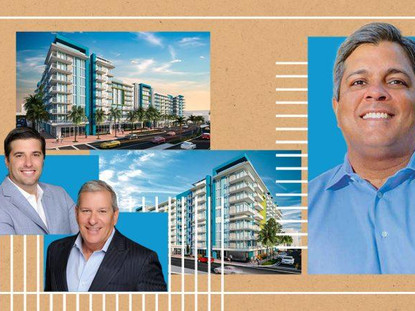 Estate Companies scores $56M construction loan for Dania Beach mixed-use project