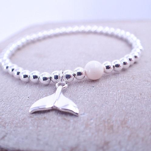 Mermaid Silver 925 Swarovski Crystal Bracelet