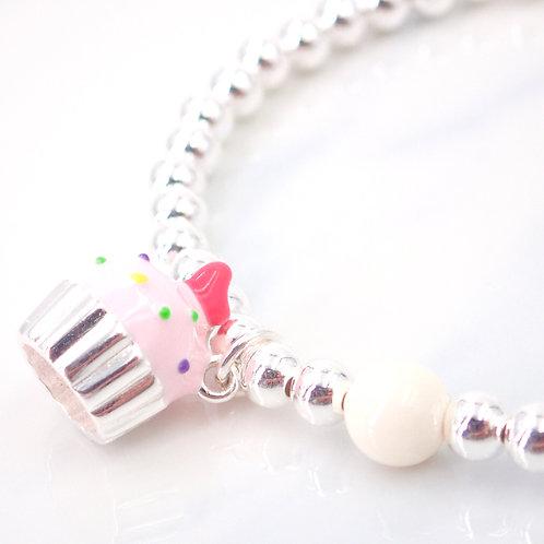 Sweeties Cake Silver 925 Bracelet