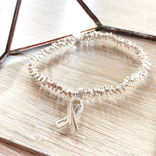 Awareness Ribbons S925 Matches Bracelet