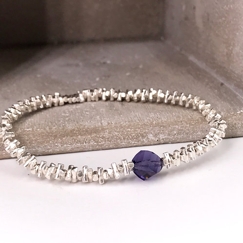 Silver 925 & Swarovski Crystal Bracelet